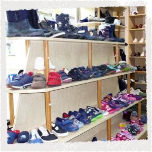 Schuhhandel: Kinderschuhe
